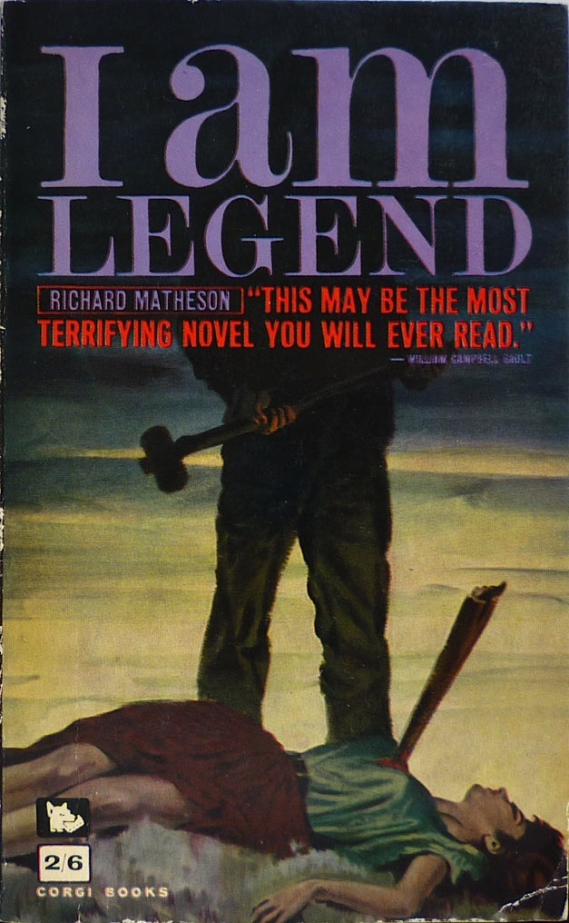 Too Much Horror Fiction: The I Am Legend Book Archive
