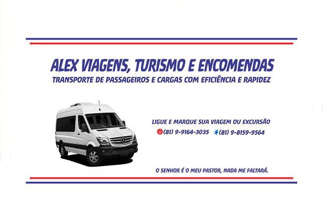 ALEX VIAGENS, TURISMO E ENCOMENDAS