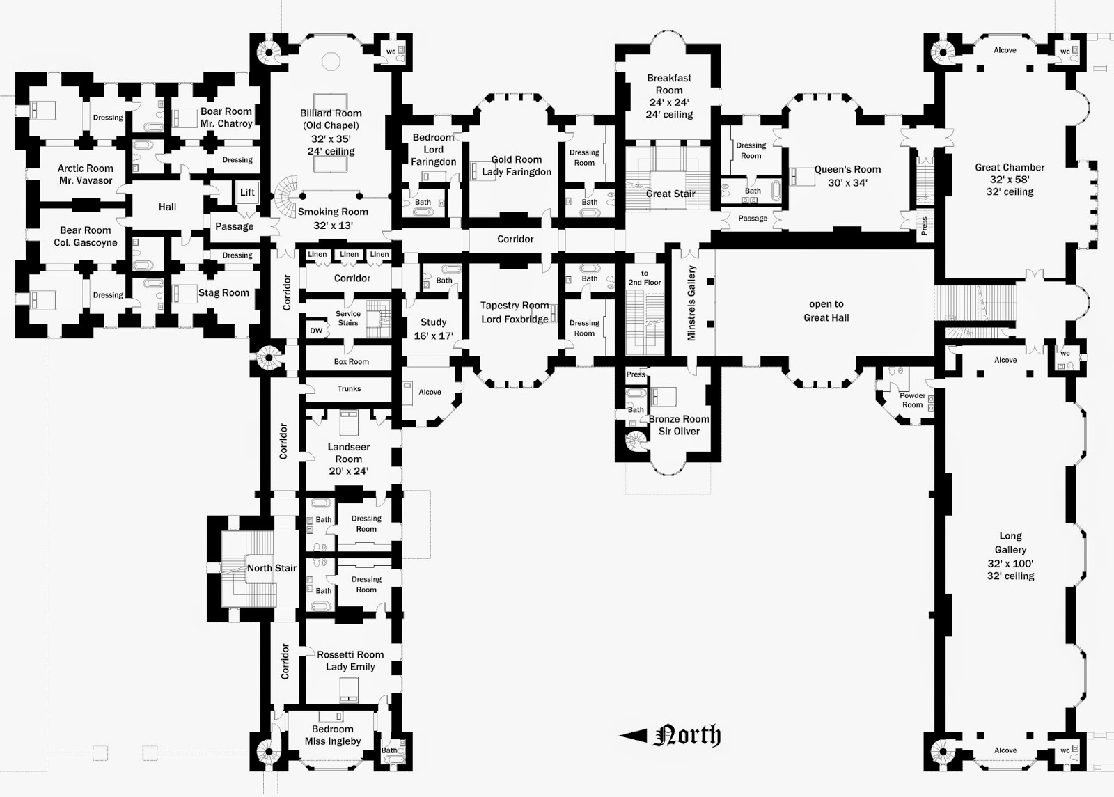 Lord foxbridge in progress floor plans foxbridge castle for Castle home floor plans