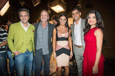 Alexandre Nero , Marcello Novaes , Juliano Cazarre e Vanessa Giácomo Crédito: Globo/João Miguel Júnior