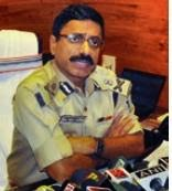 Jharkhand DGP Rajiv Kumar speaks to the media in Ranchi