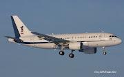 Royal Malaysian Air Force Airbus A319115(CJ) 9MNAA / ZRH 23. Januar 2013 (naa)