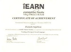 IEARN mastertrainer course