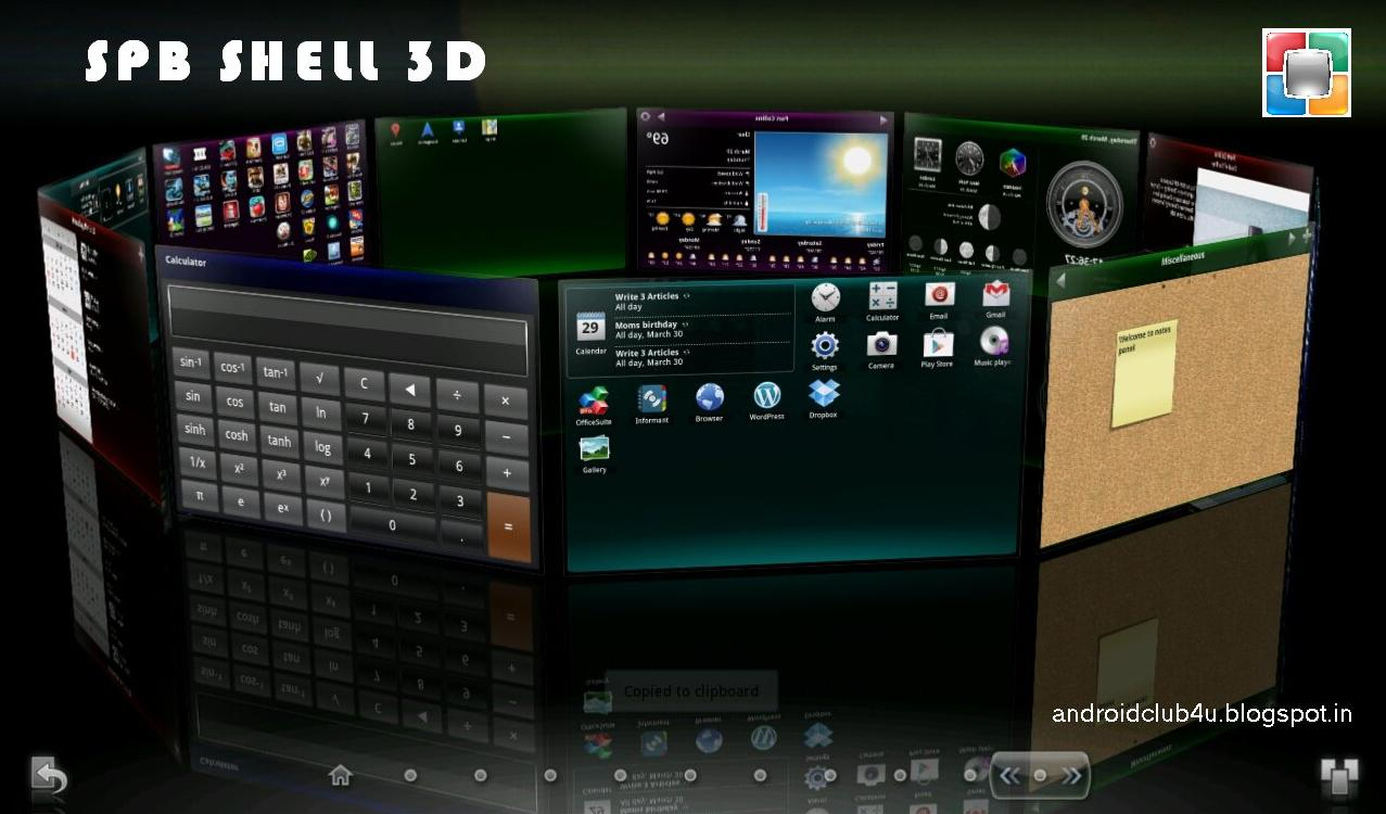 SPB Shell 3d APK Latest v Free Download for Android