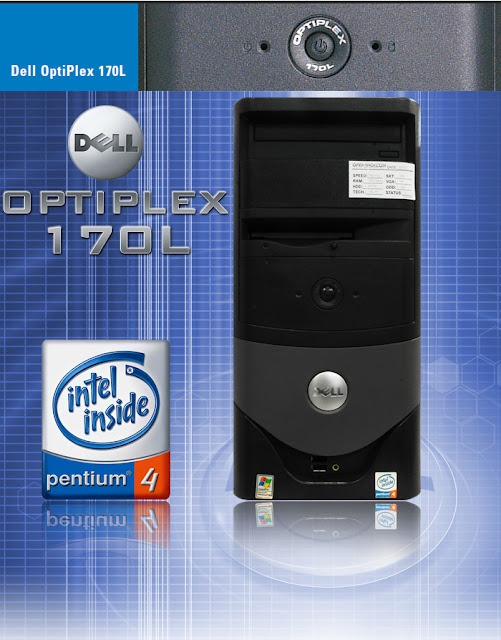 built-up dell optiplex 170l uberma komputer branded bekas murah