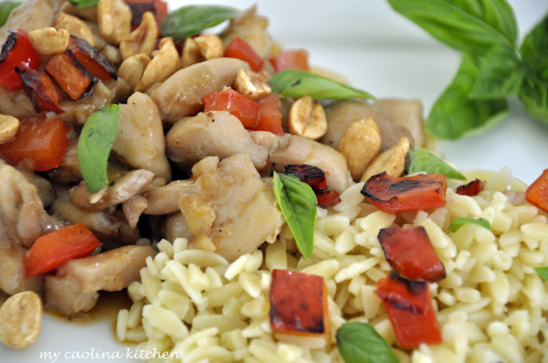 My Carolina Kitchen: Spicy Basil Chicken – dinner in less than 30 ...
