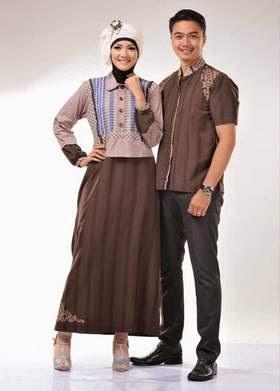 Aneka Desain Baju Muslim Couple Remaja untuk Lebaran