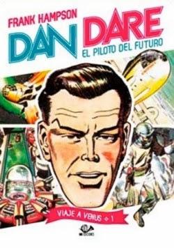 """Portada """"Dan Dare: Piloto del Futuro Vol. 1"""""""
