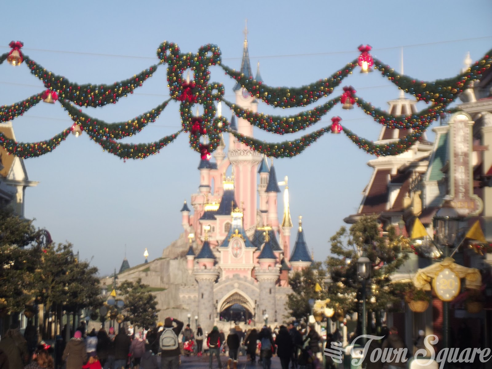 Main Street USA Christmas decorations