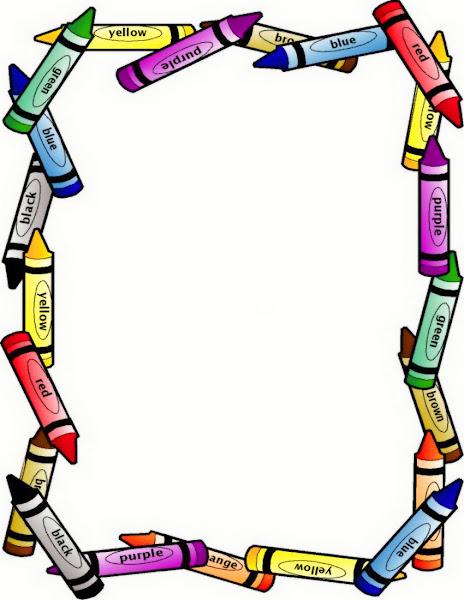 Crayon Border Clip Art