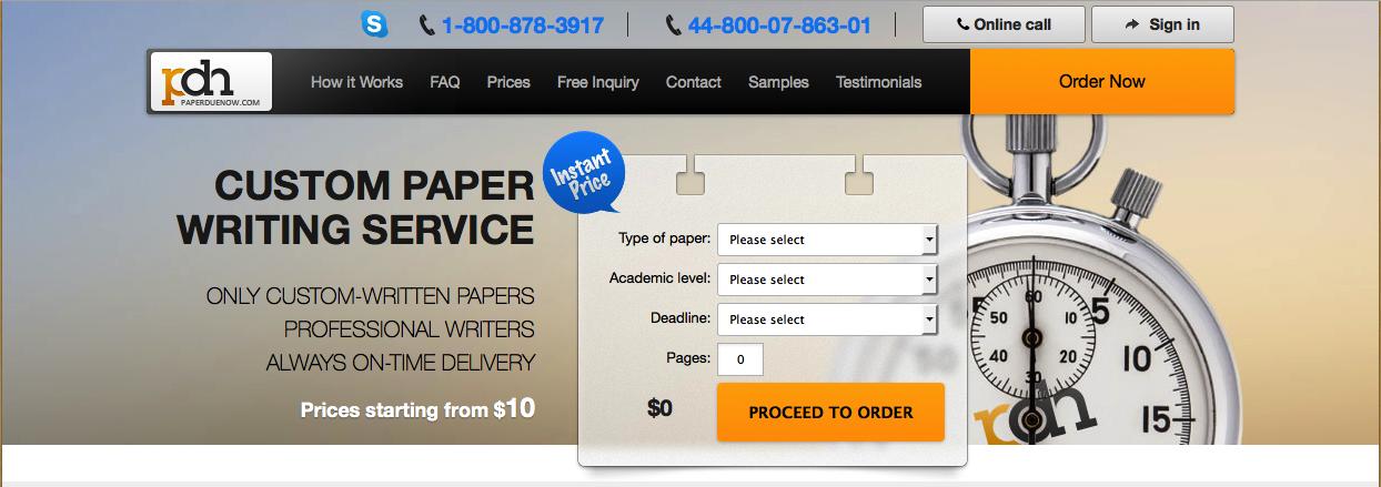 Paper Civil Service Exam