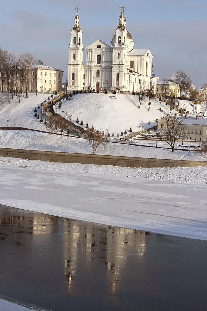 Успенский собор в Витебске фото с Кировского моста