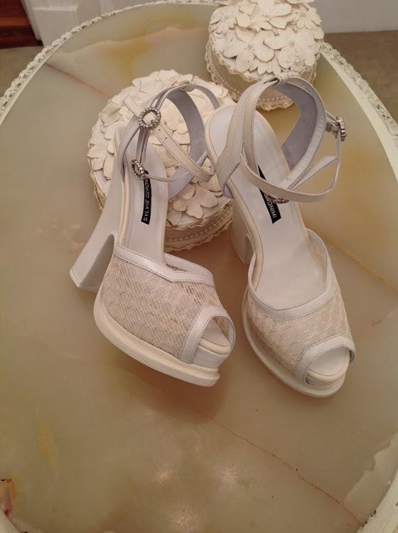 la boda: los vestidos de novia y zapatos de araceli gonzález