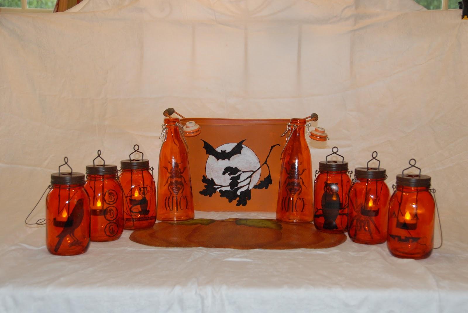 Katie's Corner: Halloween Party Basket