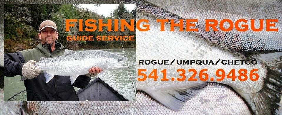 Your Rogue River Fishing Guide Service - Salmon and Steelhead fishing trips. Southern Oregon fishing