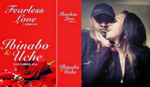 ibinabo wedding invitation card