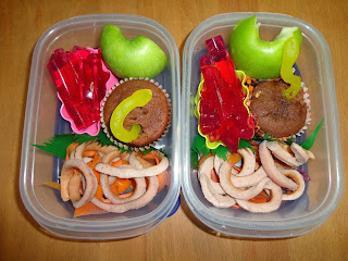 Worm Halloween Lunch