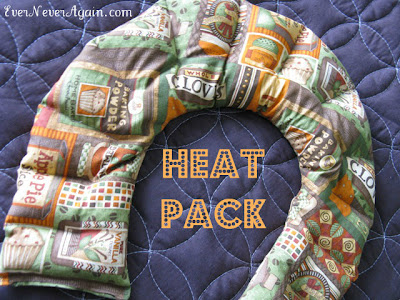 handmade heat pack gift