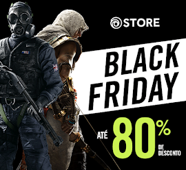 Black Friday na Ubisoft Store!