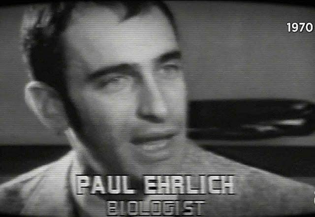 Paul Ehrlich profetizava a virtual extin��o da humanidade pela fome num planeta sem recursos naturais pelo ano 2000 ou antes