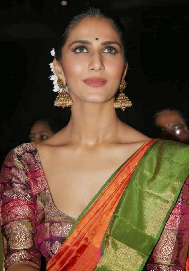 Vaani Kapoor Latest Hot Stills In Saree