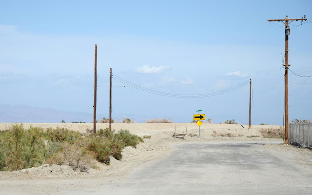 Salton Sea Beach, Salton Sea, Californie, USA