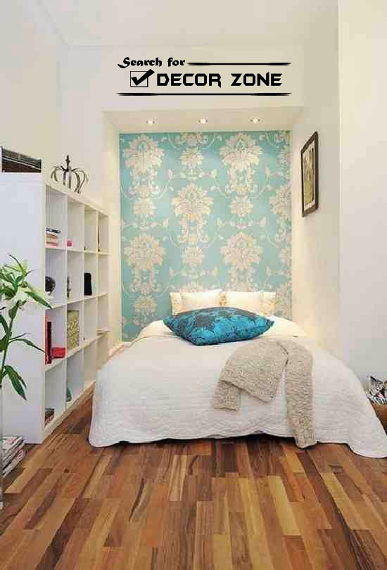 white bedroom paint colors with pale blue wallpaper. small bedroom paint colors  How to choose  10 ideas