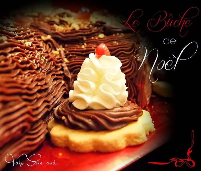 Valy cake and tronchetto di natale contaminato - Buche de noel facile et originale ...
