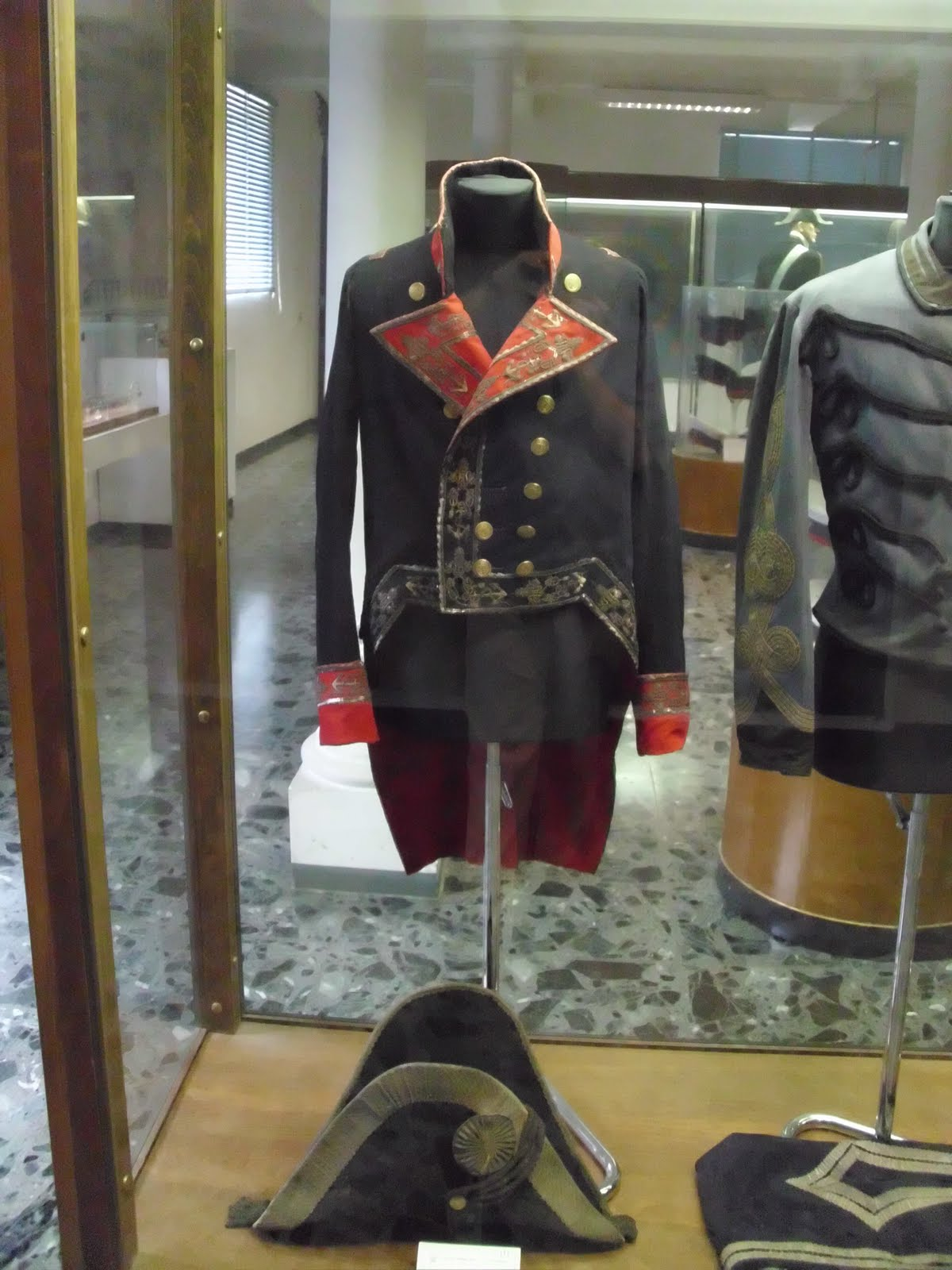 napoleonic era naval uniform naval history museum in venice when ...