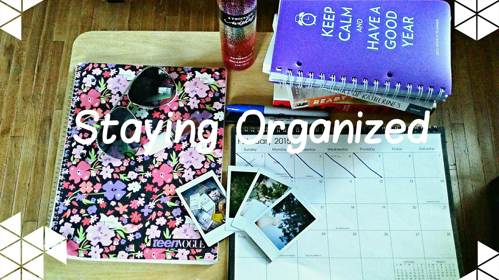 Perks of Being a Reader: Staying Organized