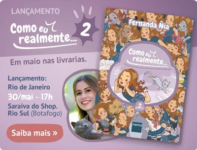 Lançamento do Como eu realmente: volume 2 em maio, com evento no Rio de Janeiro