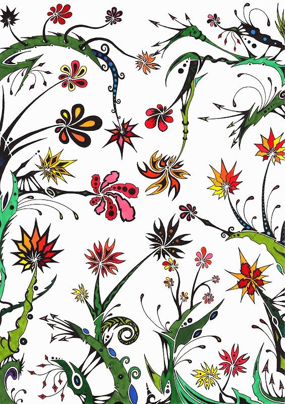 Fleurs colorées Fleurs+color%C3%A9es+3