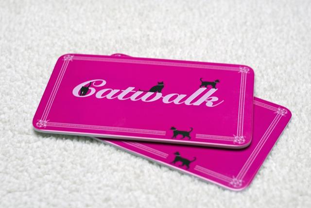 catwalk katzen frühstücksbrettchen