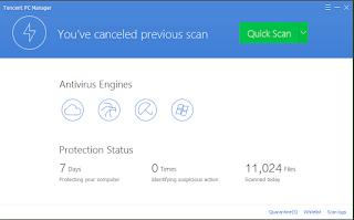 برنامج tencent لمكافحه الفيروسات اخر اصدار 2015