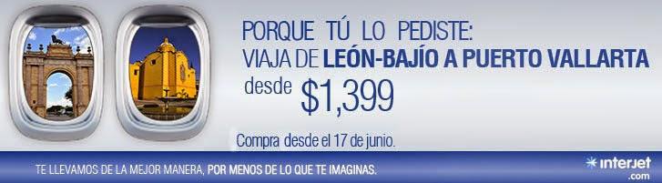 Vuelo Leon Bajio - Vallarta