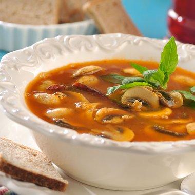 Sopa de setas con tortillas milpa real sanyiao - Como hacer sopa de setas en minecraft ...