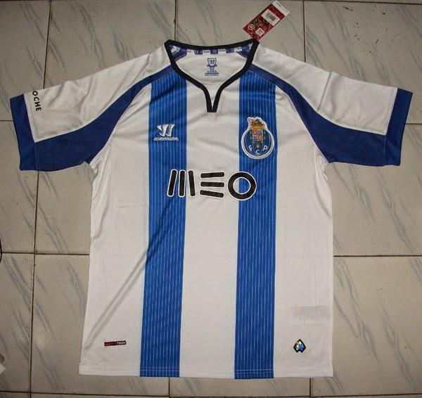 FC Porto 14-15 Warrior Home Football Shirt