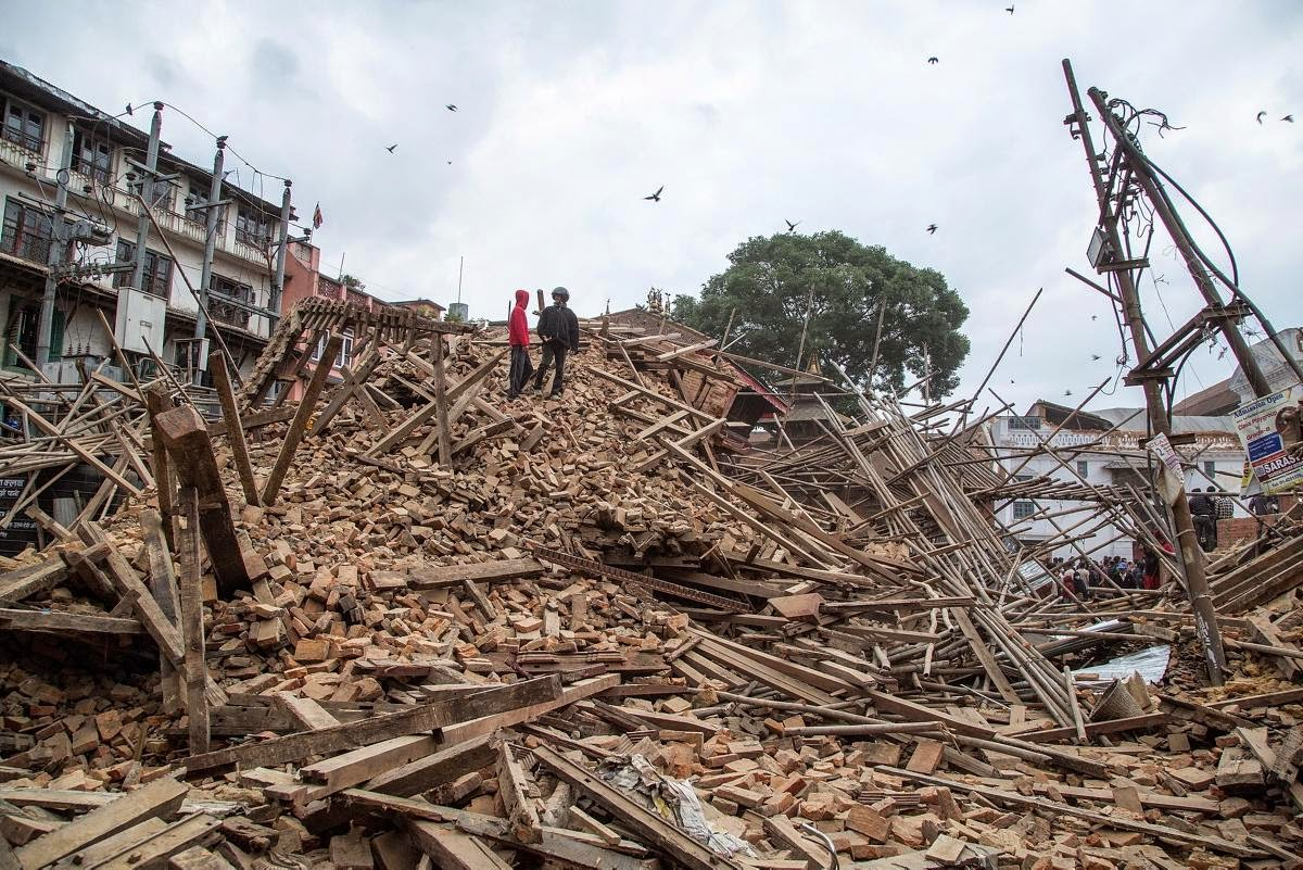 Living with nature school on blog by dr abercio v for Where to go in an earthquake