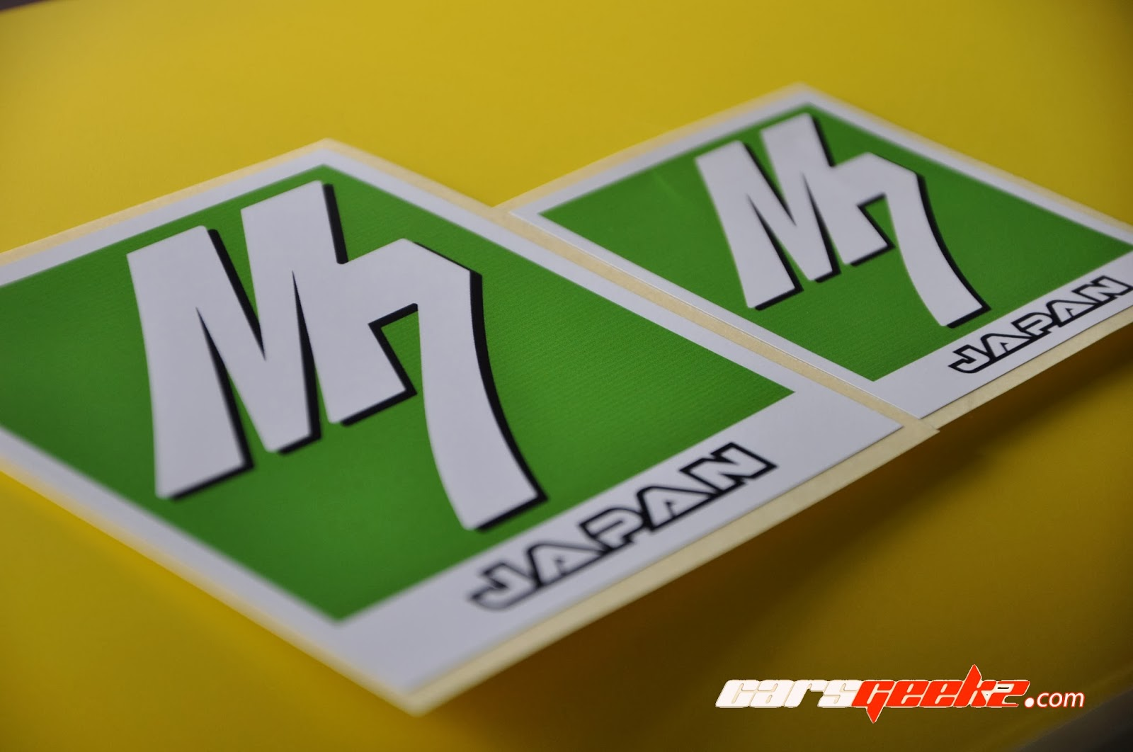 M7 -  Japan | M Seven in Green and White decal