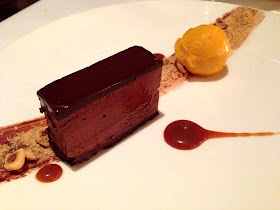 Stitch and Bear - Bang Restaurant - Chocolate pave