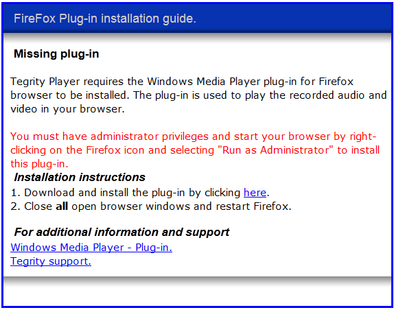 windows media player plugin chrome