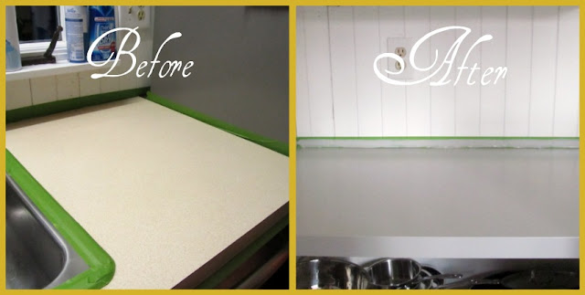 Countertop Paint Chips : The Sunshine Girl: Review: Rustoleums Countertop Paint