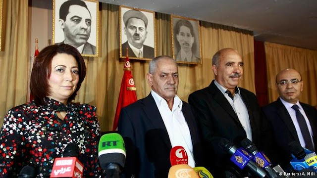 ट्यूनीशियाई संगठन नेशनल डायलॉग क्वार्टेट को शांति का नोबेल पुरस्कार