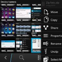 Unzip File BB10