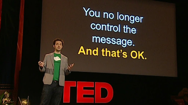 Alex Ohanian (Reddit CEO) gives a TED talk in 2009