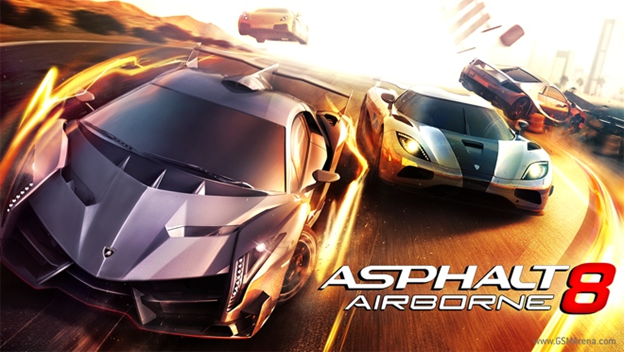 Top Racing games in Android Asphalt 8