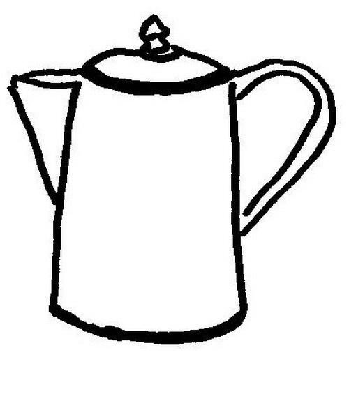 COLOREA TUS DIBUJOS: Pichel para café para colorear y pintar