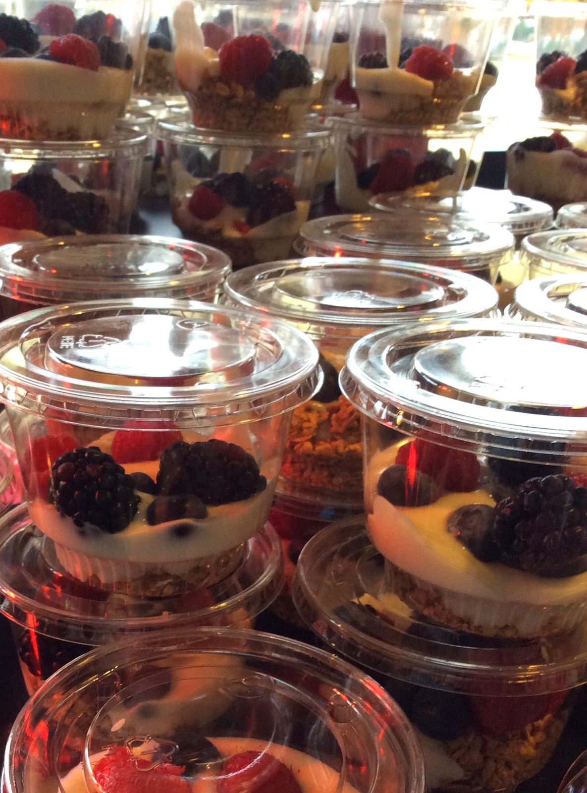 Yogurt Parfait, Addison Conference Center, Culinary Art Catering