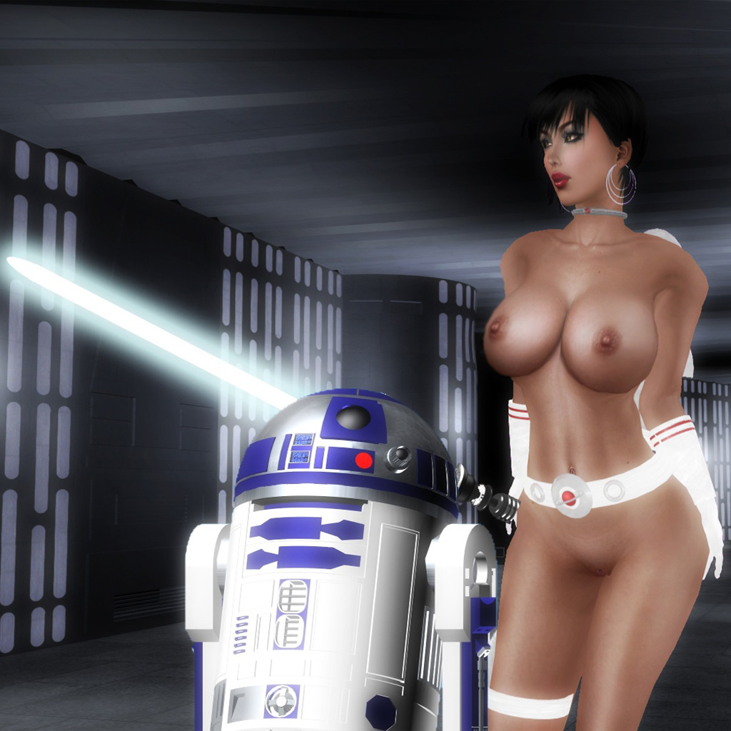 Hot jedi naked anime video