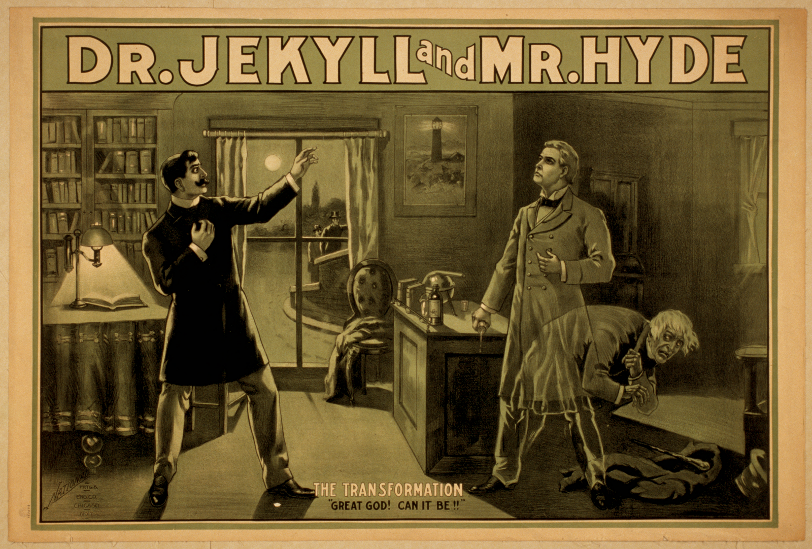 the strange case of dr jekyll and mr hyde Read excerpt 1 from the strange case of dr jekyll and mr hyde they saw it but for a glimpse for the window was instantly thrust down but that glimpse had been sufficient, and they turned and left the court without a word  .